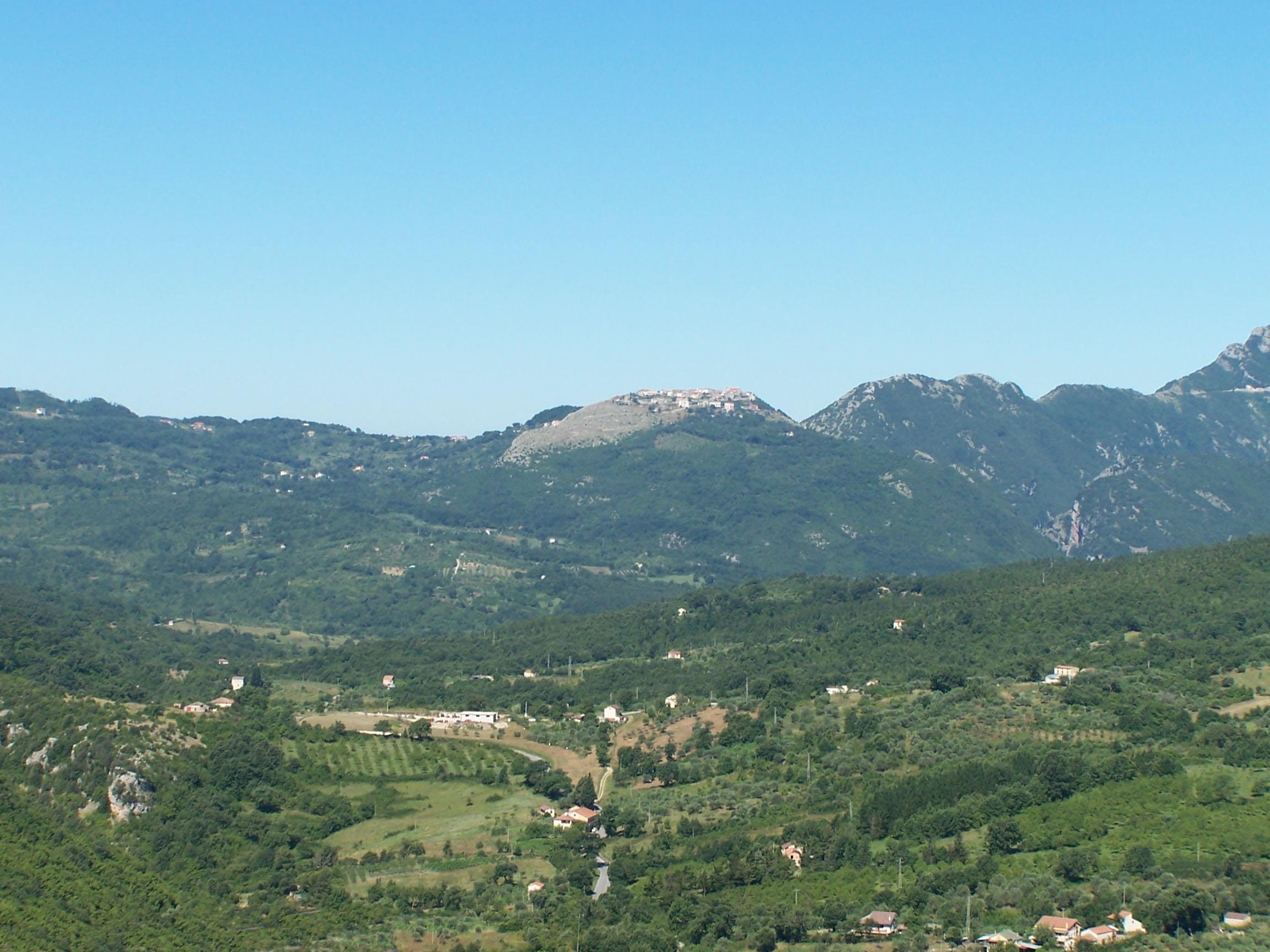 Valle del Calore - Panorama