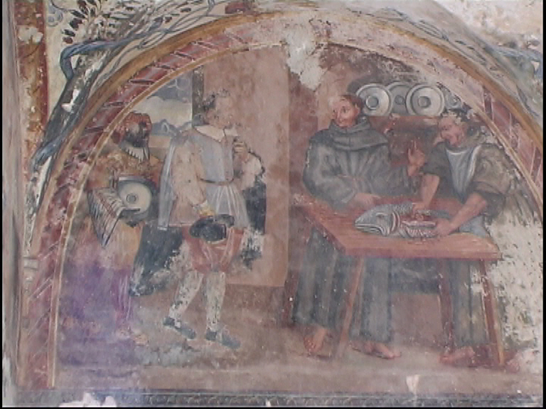 Convento S. Antonio - Particolare affresco interno