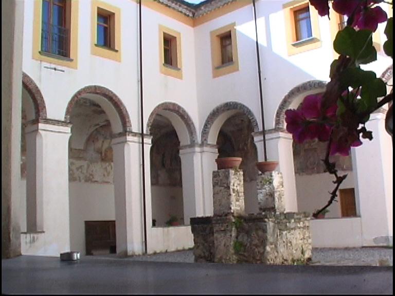Convento S. Antonio - Prospettiva chiostro